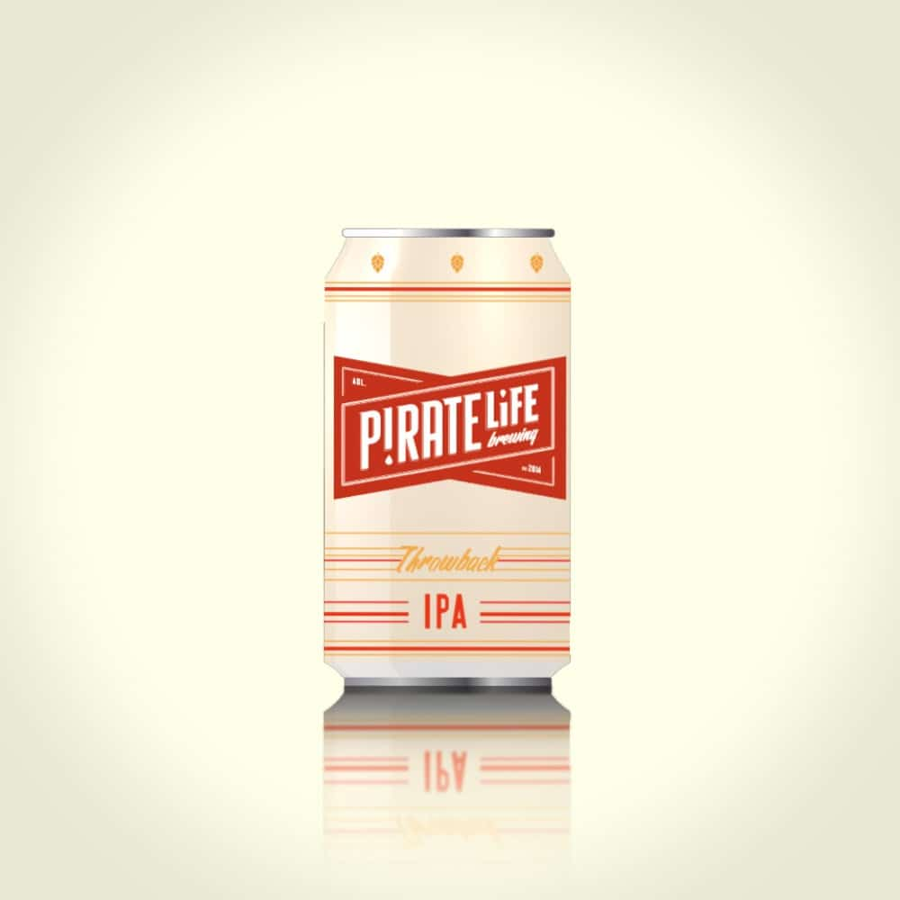 Pirate life beer 2D can animation