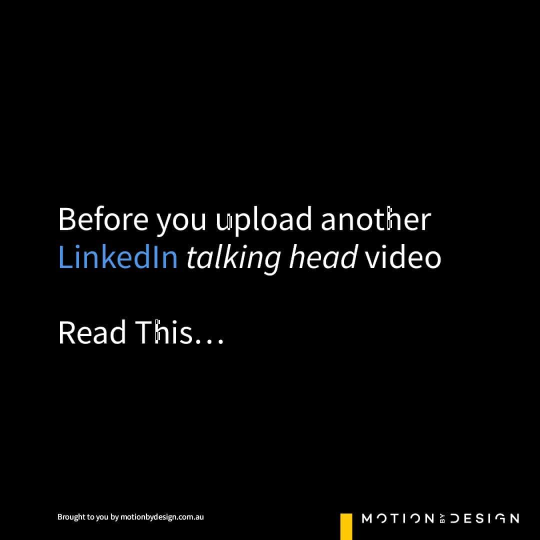 LinkedIn Video Tips