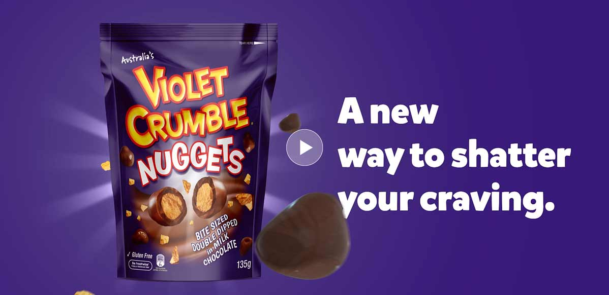 Online Product Video -Violet Crumble